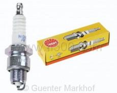 NGK - Zündkerze BPR 6 HS (radioentstört) für Motoren mit rundem Zylinderkopf