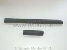 Polsterleistensatz (Knieschutz) Armaturenbrett , schwarz