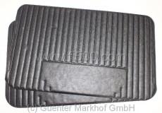 Satz (2 Stück) Türverkleidungen schwarz Fiat 500 L