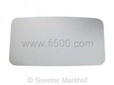 Himmel für hinteren Wagenbereich, grau. Sehr flexible Grundplatte aus Filz.