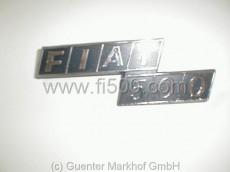 Schriftzug `Fiat 500´ für Motorhaube, Plastik