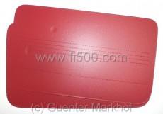 Satz Türverkleidungen (2Stück) rot