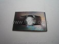 Befestigungsklammer für Emblem, 3 mm