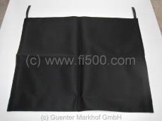 Verdeckbezug in schwarz aus hochwertigem Sonnenland Cabrio Verdeckstoff,    (500 F/L/R)
