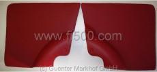 Satz Seitenverkleidungen (2 Stück) hinten, rot