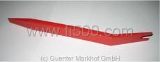 Montagewerkzeug 210x20 mm, flexibler Kunststoff. Kratzerfreie Montage von Türverkleidungen, Zierleisten, Scheiben und Gummis