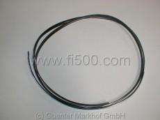 Chromkeder für Heckscheibengummi Fiat 500 L