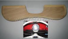 Ablage aus Holz zum selbstbeziehen oder lackieren, wird einfach über dem Lenkstockschalter platziert.