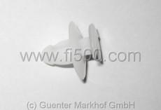 Befestigungsklammer aus Kunststoff für Türverkleidung Fiat 126