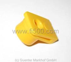 Kunststoffclip für obere Verschraubung der Kartentasche