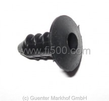 Kunststoffstopfen für Scheinwerferrahmen Ø 6,4mm