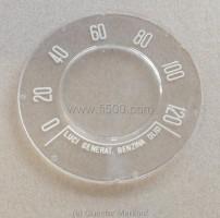 Tachometerglas 120 km/h