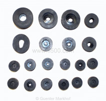 set of rubber plugs (20 pcs.)