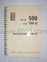 Werkstatt- / Reparaturhandbuch, Nachdruck (Fiat 500 D/F/R)