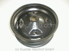 Felge 4J x 12´´, 190mm Lochkreis, schwarz