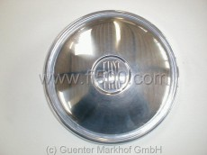 Cap, Inox with FIAT character