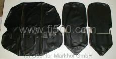 Satz Sitzbezüge Fiat 500 R, schwarz