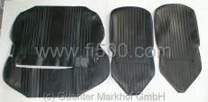 Satz Sitzbezüge Fiat 500 L, schwarz