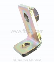 Metal angle 90° for seat belt