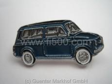 Anstecker Fiat 500 Kombi, dunkelblau
