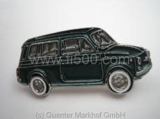 Anstecker Fiat 500 Kombi, grün