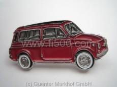 Anstecker Fiat 500 Kombi, rot