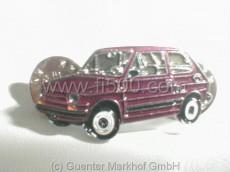 Pin Fiat 126, rot