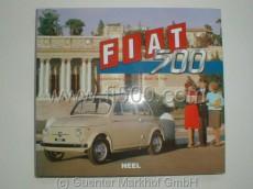 Buch der Fiat 500 Geschichte mit vielen Bildern und Daten