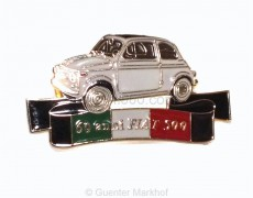Pin for 60. birthday of the Fiat 500 (60 anni Fiat 500)