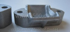 Alu-Lagerbock für Blattfeder, ca. 7mm tiefer als Standard Fiat 126
