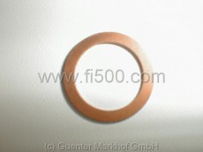 Kupferdichtring für Ölablaßschraube 16mm Alu-Ölwanne