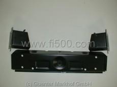 Blechholm oberhalb Blattfeder kpl. mit Gewindebolzen (126), durch geringfügigen Umbau auch für Fiat 500 passend