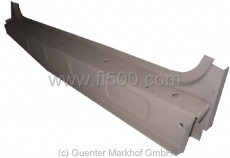 inner door sill Fiat 500 Giardiniera right side, with middle sheet metal