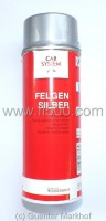 Spray cane Silver for wheels, 400 ml