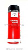 Thermolack / Auspufflack schwarz (hitzebeständiger Lack), Spraydose