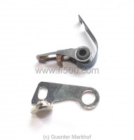 Contact set Fiat 850, 127, 128, 131, Ritmo, Fiorino,   Bj. 1974 - 1984, for Ducellier Distributor
