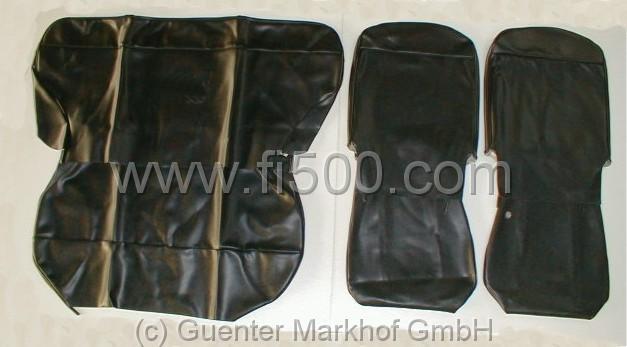 satz sitzbez ge fiat 500 giardinera schwarz 404328. Black Bedroom Furniture Sets. Home Design Ideas