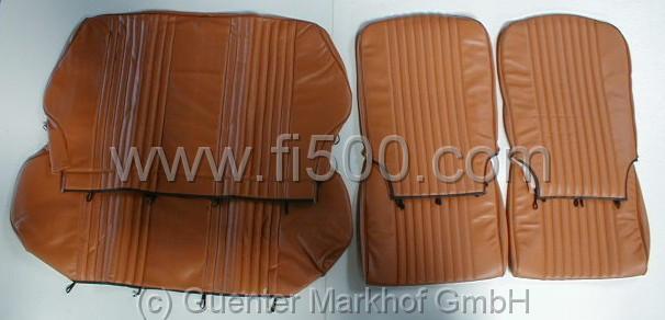 satz sitzbez ge fiat 500 l ocker 404463. Black Bedroom Furniture Sets. Home Design Ideas