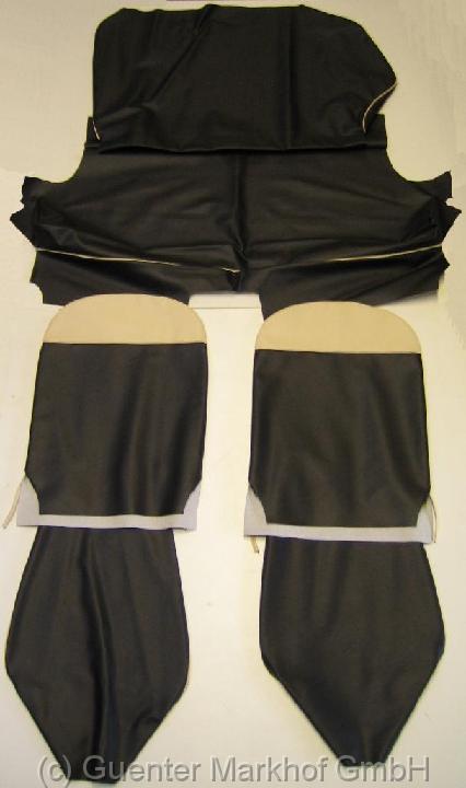 satz sitzbez ge schwarz fiat 500 d aus hochwertigem vipla. Black Bedroom Furniture Sets. Home Design Ideas