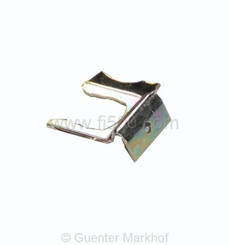 Sicherungsblech/Klammer Bremsschlauch/Leitung