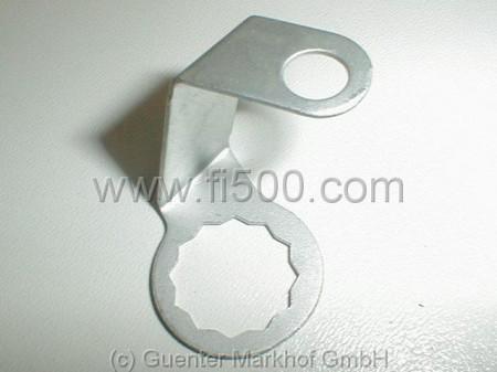 Sicherungsblech Bremsschlauch/Zylinder vorn links